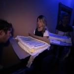 Huge Dim Mak cakes